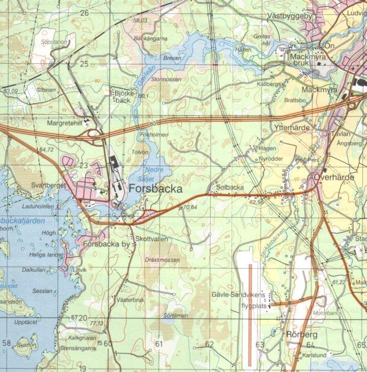 karta forsbacka Ansedel för Elon Jansson karta forsbacka